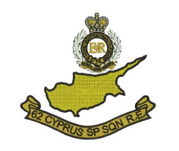 62 Cyprus SP SQN embroidered Polo Shirt